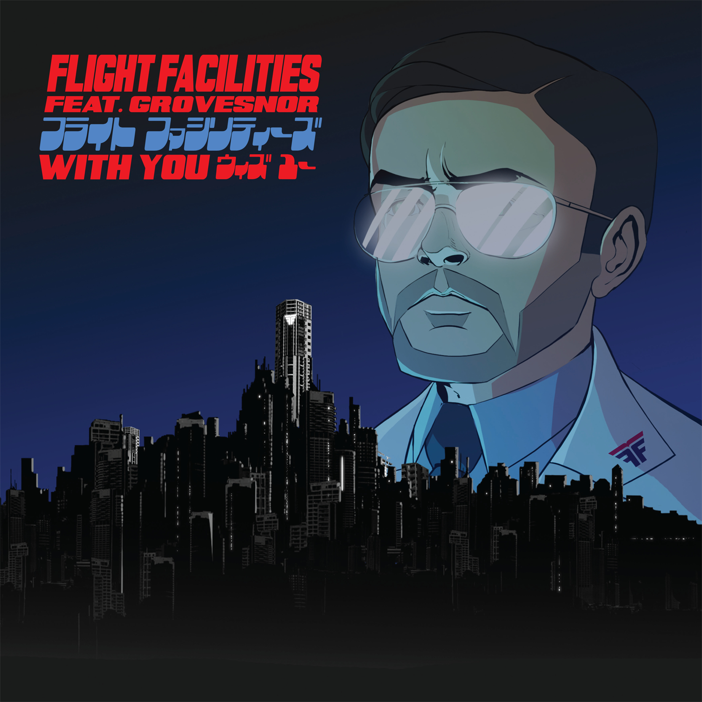 flight facilities with you feat grovesnor