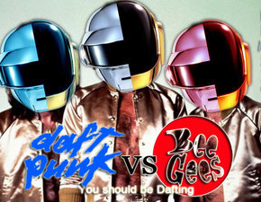 Daft Punk vs Bee Gees - You Should Be Dafting // Da Funk's Alive