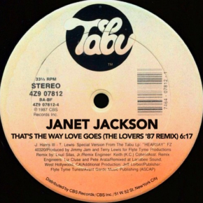 Janet Jackson X Alexander O'Neil - That's The Way Love Goes (The Lovers '87 Remix)