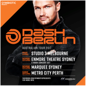 Dash Berlin Return To Australia In 2017